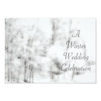 Winter Save the Date Invitation