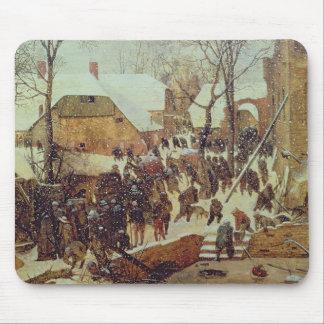 Winter Scene, 16th century Mouse Pad