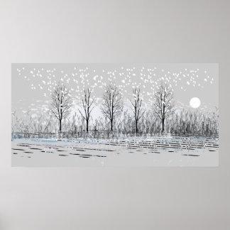 Winter Scene 1 Poster
