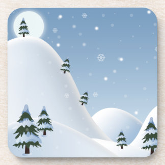 Winter Scene Coaster