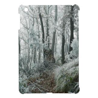 Winter Scene Freezed Forest iPad Mini Cases