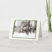 'Winter Scene' Holiday Card - Christmas