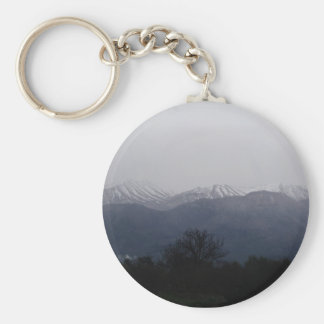 Winter Scene keychain