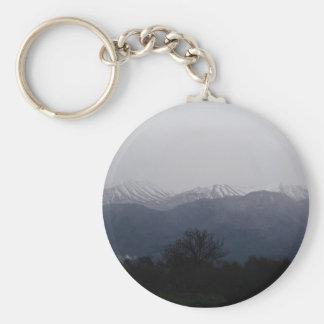 Winter Scene keychain