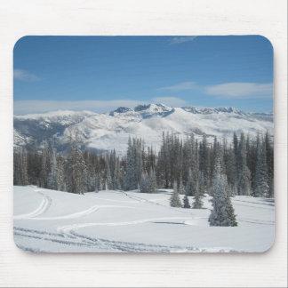 Winter Scene Mouse Pad