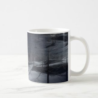 Winter Scene on Coffee Mug