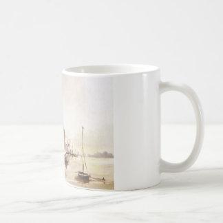 Winter scene on the Essex coast Mug