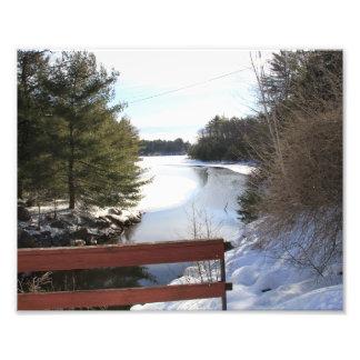 Winter Scene Art Photo