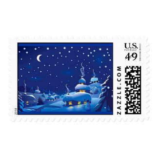 Winter Scene Postage