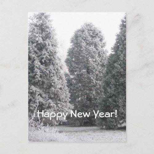 Winter scene, Happy New Year