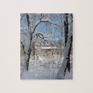 Winter Scene Puzzle