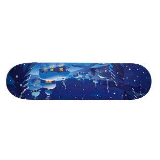 Winter Scene Skateboard Deck