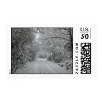 Winter Scene Stamp