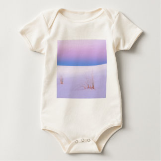 Winter Scene Tranquility Sands New Mexico Baby Bodysuits