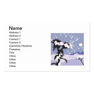 Winter Scenery Business Card