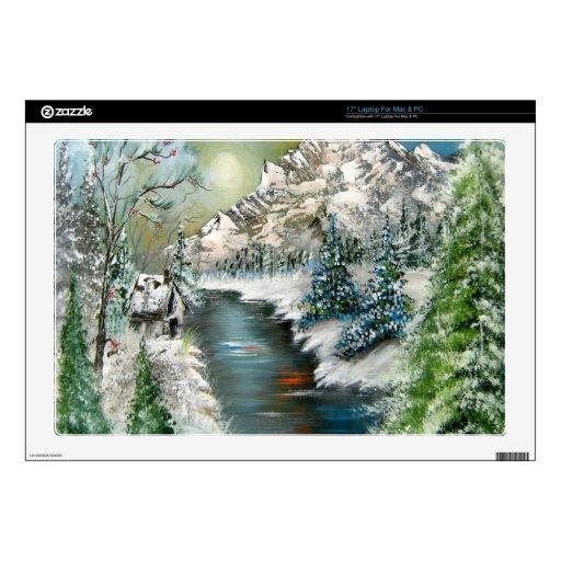 Winter Scenery Design Laptop Decal