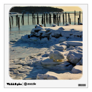 Winter Scenery - Passagassawakeag River Wall Sticker