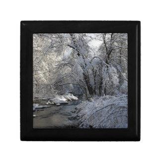 Winter Scenic Landscape Gift Box