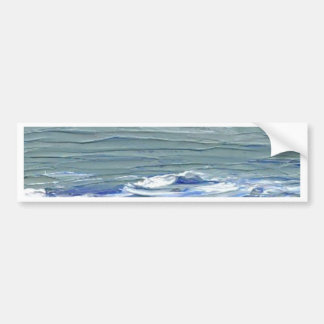 Winter Sea - CricketDiane Ocean Art Bumper Sticker