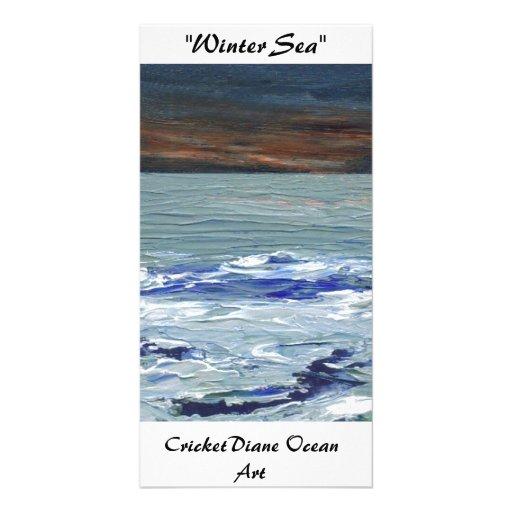 Winter Sea - CricketDiane Ocean Art Photocards Photo Card