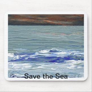 Winter Sea - Save the Sea CricketDiane Mousepad