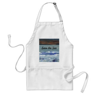 Winter Sea - Save the Sea CricketDiane Ocean Apron Standard Apron