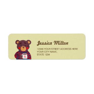 Winter Season is Coming (Bear) Label