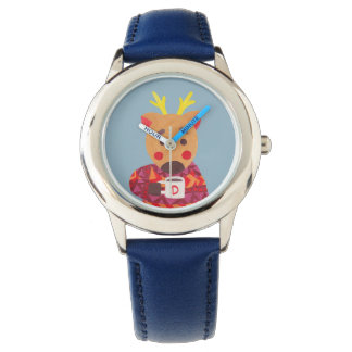 Winter Season is Coming (Deer Edition) Wrist Watches