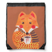 Winter Season is Coming (Fox Edition) Drawstring Backpack