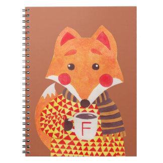 Winter Season is Coming (Fox Edition) Notebook