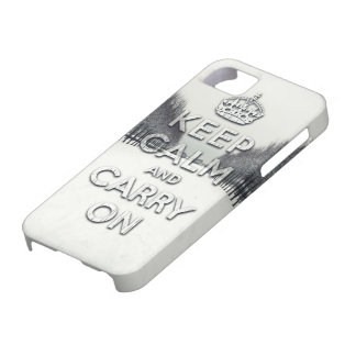 Winter season keep calm and carry on iPhone SE/5/5s case