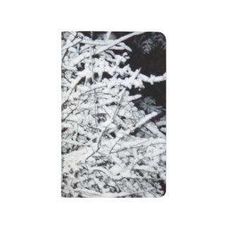 Winter Season Pretty Branches Snow Cover Journal