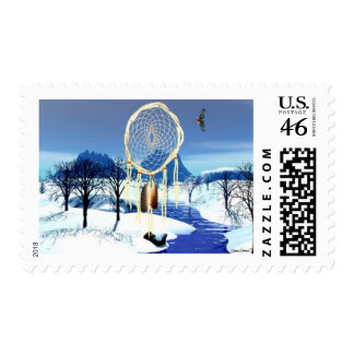 Winter Serenity Stamp