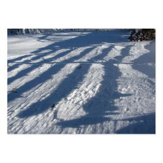 Winter Shadows ~ ATC Large Business Card