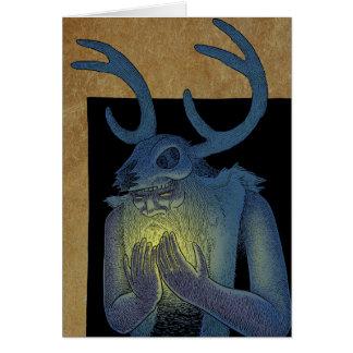 Winter Shaman Greeting Card