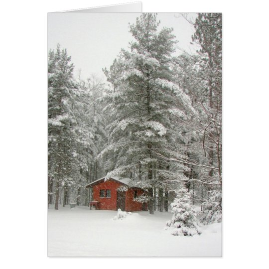 Winter Shed Card