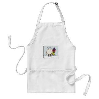 winter sheep apron