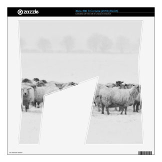 Winter sheep flock xbox 360 s decal