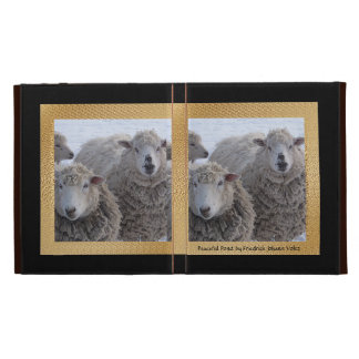 Winter Sheep iPad Folio Covers