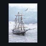 "Winter Ship Canvas Print<br><div class=""desc"">An icebound tall ship</div>"