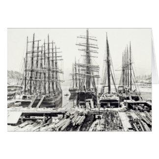 Winter Ships Card