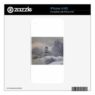 Winter Sight iPhone 4S Skin