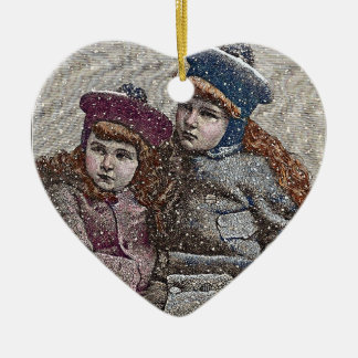 Winter Sisters Ornament