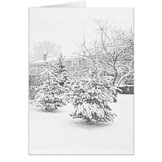 Winter Sketch II Card