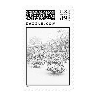 Winter Sketch II Stamps