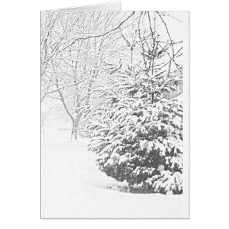 Winter Sketch III Card