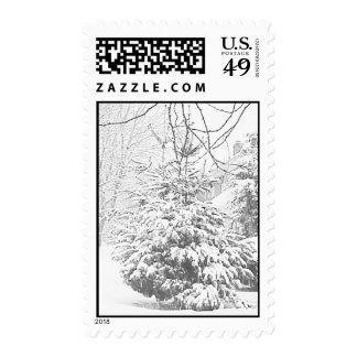 Winter Sketch VI Stamp