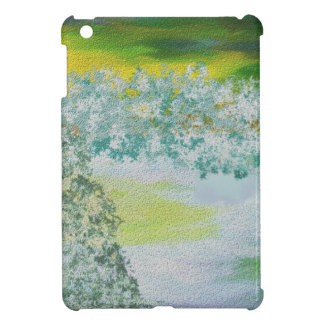 Winter Sky and Land Art Cover For The iPad Mini