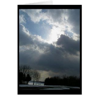 Winter Sky Card