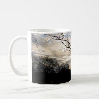 winter sky mug